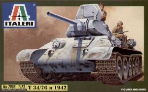 ITALERI 1/72 7008 T-34/76 RUSSIAN TANK