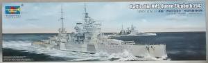 TRUMPETER 1/350 05324 HMS QUEEN ELIZABETH 1943