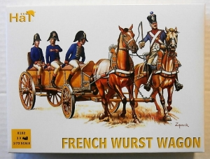 HAT INDUSTRIES 1/72 8102 FRENCH WURST WAGON