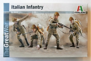 ITALERI 1/35 6532 ITALIAN INFANTRY