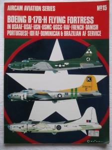 AIRCAMS  15. B-17B-H FLYING FORTRESS