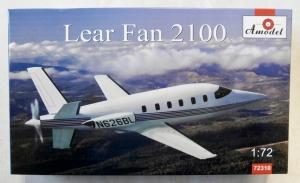 A MODEL 1/72 72310 LEAR FAN 2100