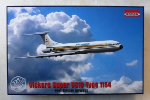 RODEN 1/144 329 VICKERS SUPER VC10 TYPE 1154 EAST AFRICAN AIRLINES