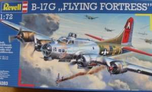 REVELL 1/72 04283 B-17G FLYING FORTRESS