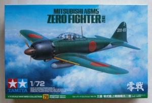 TAMIYA 1/72 60779 MITSUBISHI A6M5 ZERO FIGHTER ZEKE