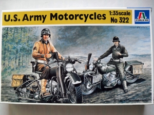 ITALERI 1/35 322 US ARMY MOTORCYCLES