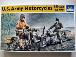 ITALERI 1/35 322 US ARMY MOTORCYCLES
