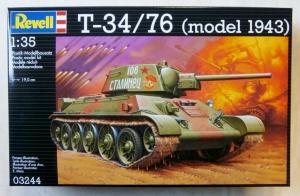 REVELL 1/35 03244 T-34/ 76 MODEL 1943