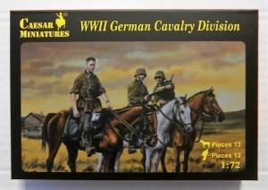 CAESAR MINATURES 1/72 092 WWII GERMAN CAVALRY DIVISION