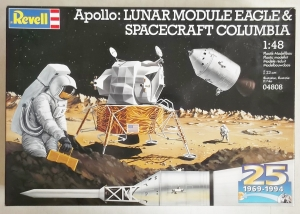 REVELL 1/48 04808 LUNAR MODULE EAGLE   SPACECRAFT COLUMBIA  UK SALE ONLY