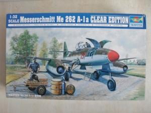 TRUMPETER 1/32 02261 MESSERSCHMITT Me 262 A-1a CLEAR EDITION