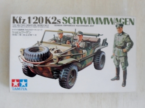 TAMIYA 1/35 35003 Kfz 1/20 K2s SCHWIMMWAGEN
