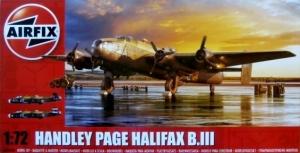 AIRFIX 1/72 06008A HANDLEY PAGE HALIFAX B.III