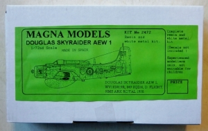 MAGNA 1/72 2472 DOUGLAS SKYRAIDER AEW1
