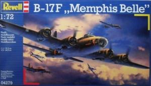 REVELL 1/72 04279 B-17F MEMPHIS BELLE
