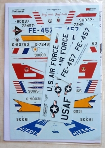 XTRADECAL 1/72 72247 CONVAIR F-106A/B DELTA DART PART 2