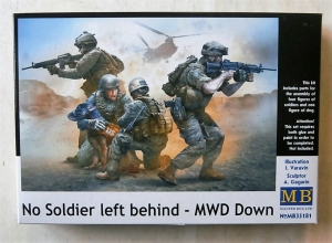 MASTERBOX 1/35 35181 NO SOLDIER LEFT BEHIND MWD DOWN