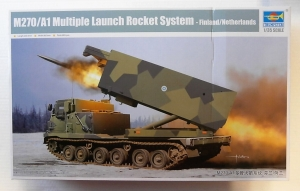 TRUMPETER 1/35 01047 M270/A1 MULTIPLE LAUNCH ROCKET SYSTEM FINLAND/NETHERLANDS