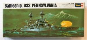 REVELL 1/720 H-486 USS PENNSYLVANIA