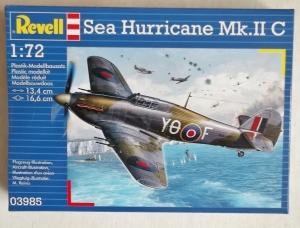 REVELL 1/72 03985 SEA HURRICANE Mk.IIC