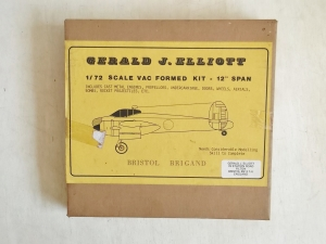 GERALD J ELLIOTT 1/72 BRISTOL BRIGAND
