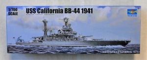 TRUMPETER 1/700 05783 USS CALIFORNIA BB-44 1941