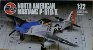 AIRFIX 1/72 03045 NORTH AMERICAN MUSTANG P-51D/K