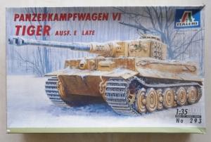 ITALERI 1/35 293 PANZERKAMPFWAGEN VI TIGER Ausf.E LATE