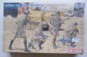 DRAGON 1/35 6390 BRITISH 8th ARMY EL ALAMEIN 1942