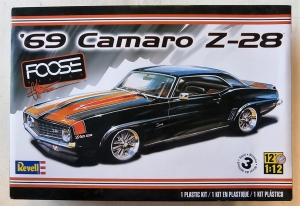 REVELL 1/12 2811 69 CAMARO Z-38  UK SALE ONLY