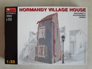 MINIART 1/35 35524 NORMANDY VILLAGE HOUSE