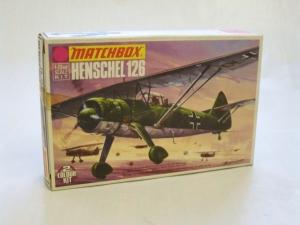 MATCHBOX 1/72 PK-26 HENSCHEL Hs 126
