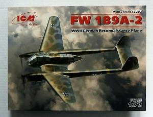 ICM 1/72 72292 FOCKE WULF Fw 189A-2