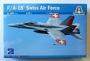 ITALERI 1/72 1385 F/A-18 SWISS AIR FORCE