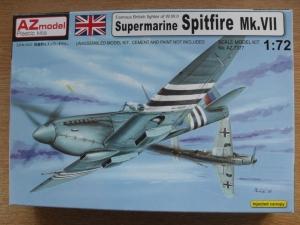AZ Models 1//72 Supermarine Spitfire Mk VII # AZ 7377