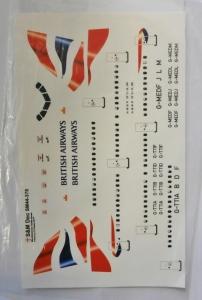 S M MODELS 1/144 1066. 44-370 BRITISH AIRWAYS AIRBUS A321