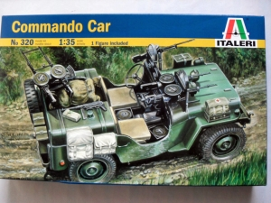 ITALERI 1/35 320 COMMANDO CAR
