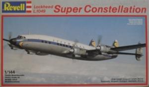 REVELL 1/144 4237 LOCKHEED L.1049 SUPER CONSTELLATION LUFTHANSA