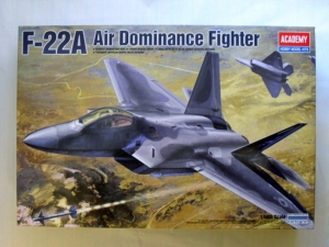 ACADEMY 1/48 12212 F-22A AIR DOMINANCE FIGHTER