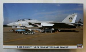 HASEGAWA 1/72 00931 F-14D TOMCAT VF-31 TOMCATTERS LAST TOMCAT