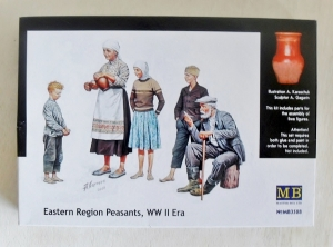 MASTERBOX 1/35 3588 WWII EASTERN EUROPEAN PEASANTS