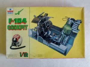 ESCI 1/12 A602 F-104 COCKPIT