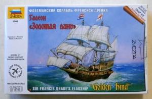 ZVEZDA 1/350 6509 SIR FRANCIS DRAKES FLAGSHIP GOLDEN HIND