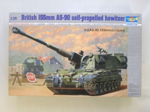 TRUMPETER 1/35 00324 BRITISH AS-90 155mm SP HOWITZER