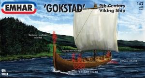EMHAR 1/72 9001 GOKSTAD 9th CENTURY VIKING SHIP