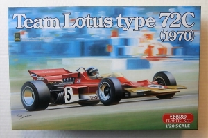 EBBRO 1/20  001 TEAM LOTUS TYPE 72C  1970