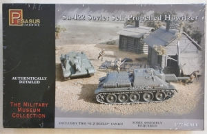 PEGASUS HOBBIES 1/72 7664 SU-122 SOVIET SELF PROPELLED HOWITZER