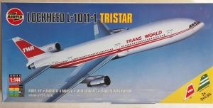 AIRFIX 1/144 06178 LOCKHEED L-1011-1 TRISTAR TRANSWORLD/CATHAY PACIFIC