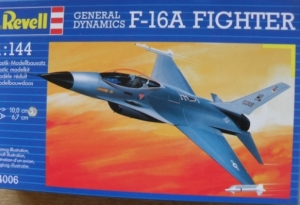 REVELL 1/144 04006 GENERAL DYNAMICS F-16A FIGHTER