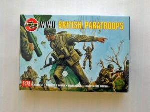 AIRFIX 1/72 01723 WWII BRITISH PARATROOPS